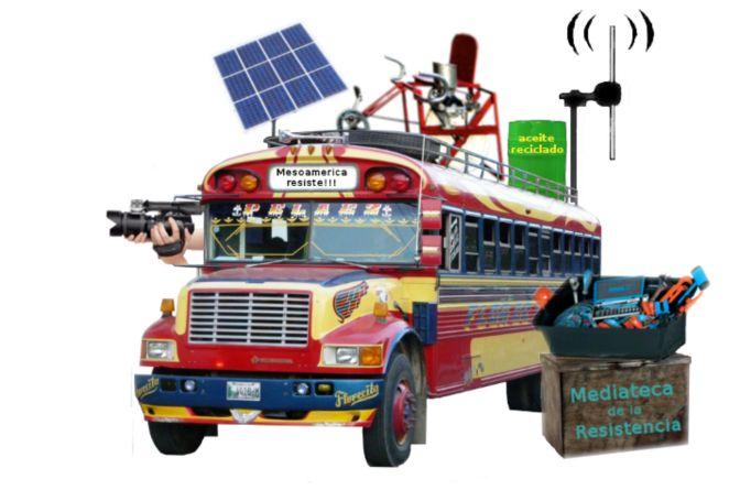 Caravana para el Buen Vivir Mesoamerica Resiste